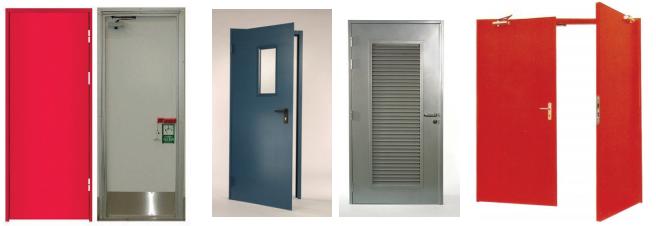 Premier Engineering - Steel fire rated doors