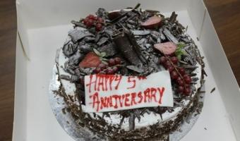Marine Division celebrate Anniversary